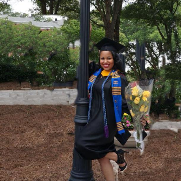 Congratulations Soror Morgan Smith-Williams