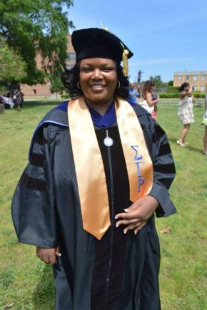 Congratulations Soror Renita Washington