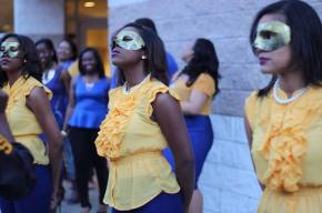 Omicron Gamma Chapter Welcomes Spring 2014 New Members