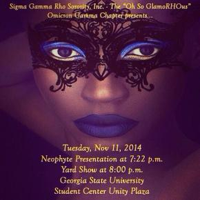 Join Omicron Gamma (Georgia State) for Neophyte Presentation